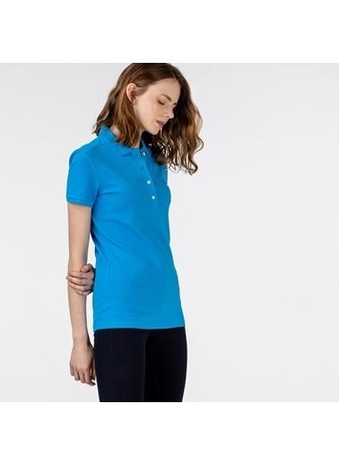 Lacoste Kadın  Tişört PF5462P.PTV Mavi